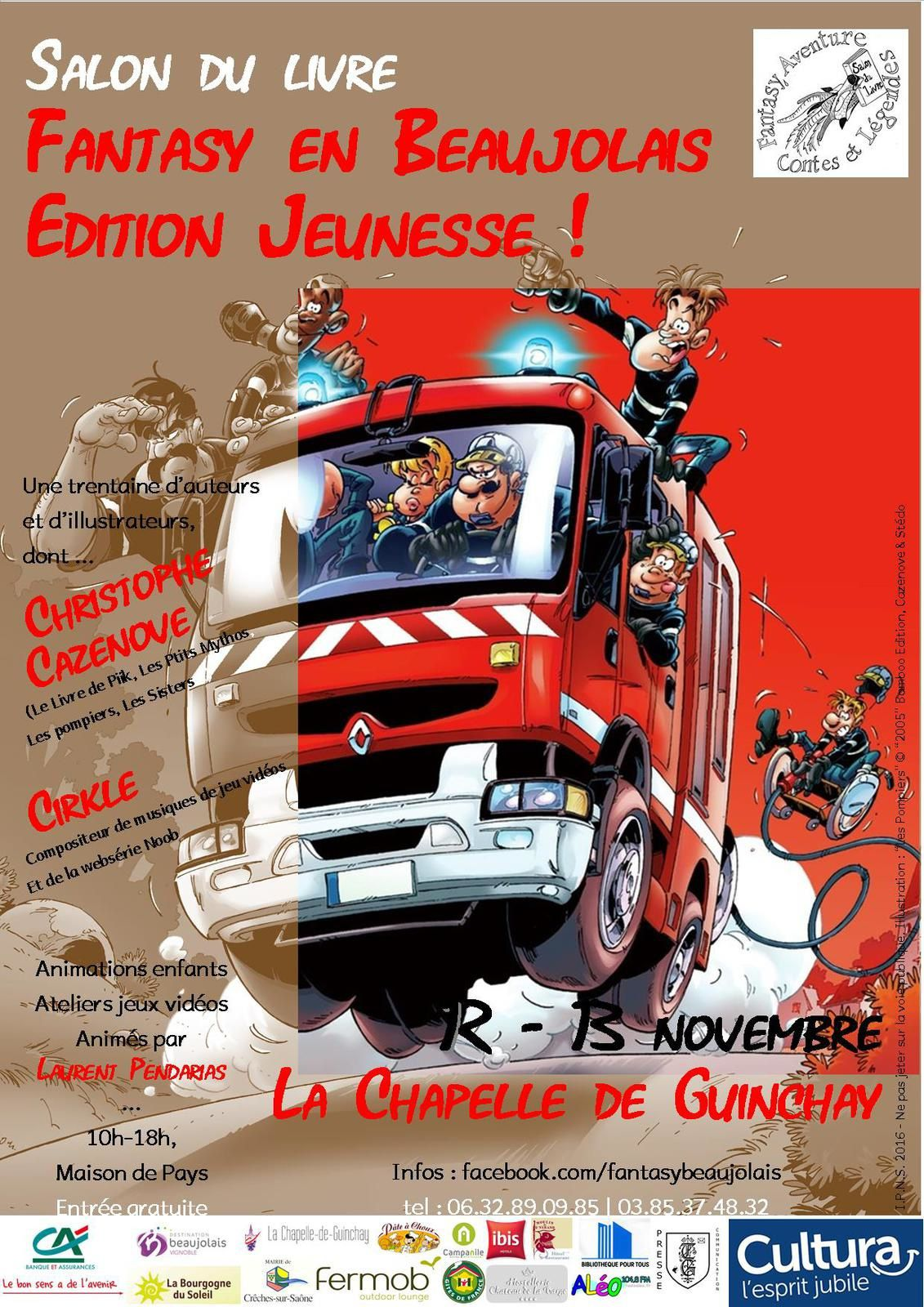 "Une version à l'attention des soldats du feu. Illustration : ""Les Pompiers"" © ""2005"" Bamboo Edition, Cazenove & Stédo"