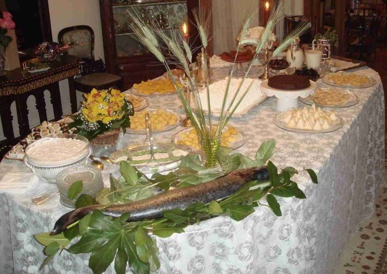 Table de Mimouna