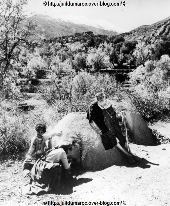 Four traditionnel pour le pain du Shabbat dans la région de Tafraout, dans l'Anti-Atlas - 1950
