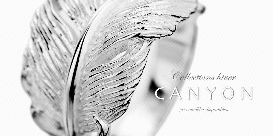 Le bijou plume: la tendance de l'hiver avec Canyon bijoux !