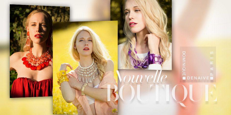 Les bijoux Dominique Denaive adoptés par les personnalités du petit écran!