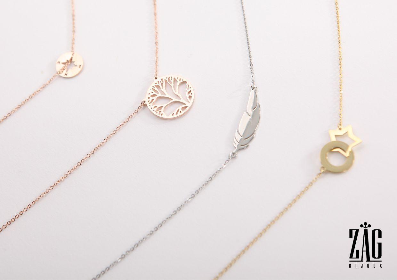 Cet été, on opte pour l'accumulation avec les colliers Zag Bijoux !