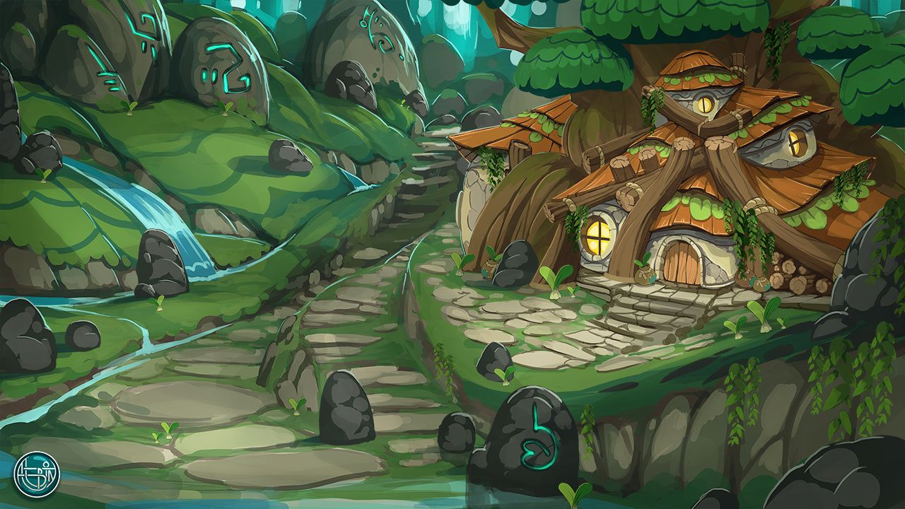 witch druid house