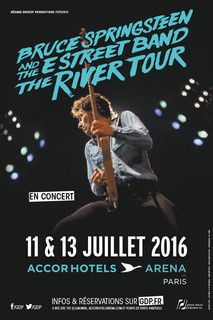 Bruce Springsteen &amp&#x3B; the E Street Band, Accor Hotel Arena, 11/07/2016