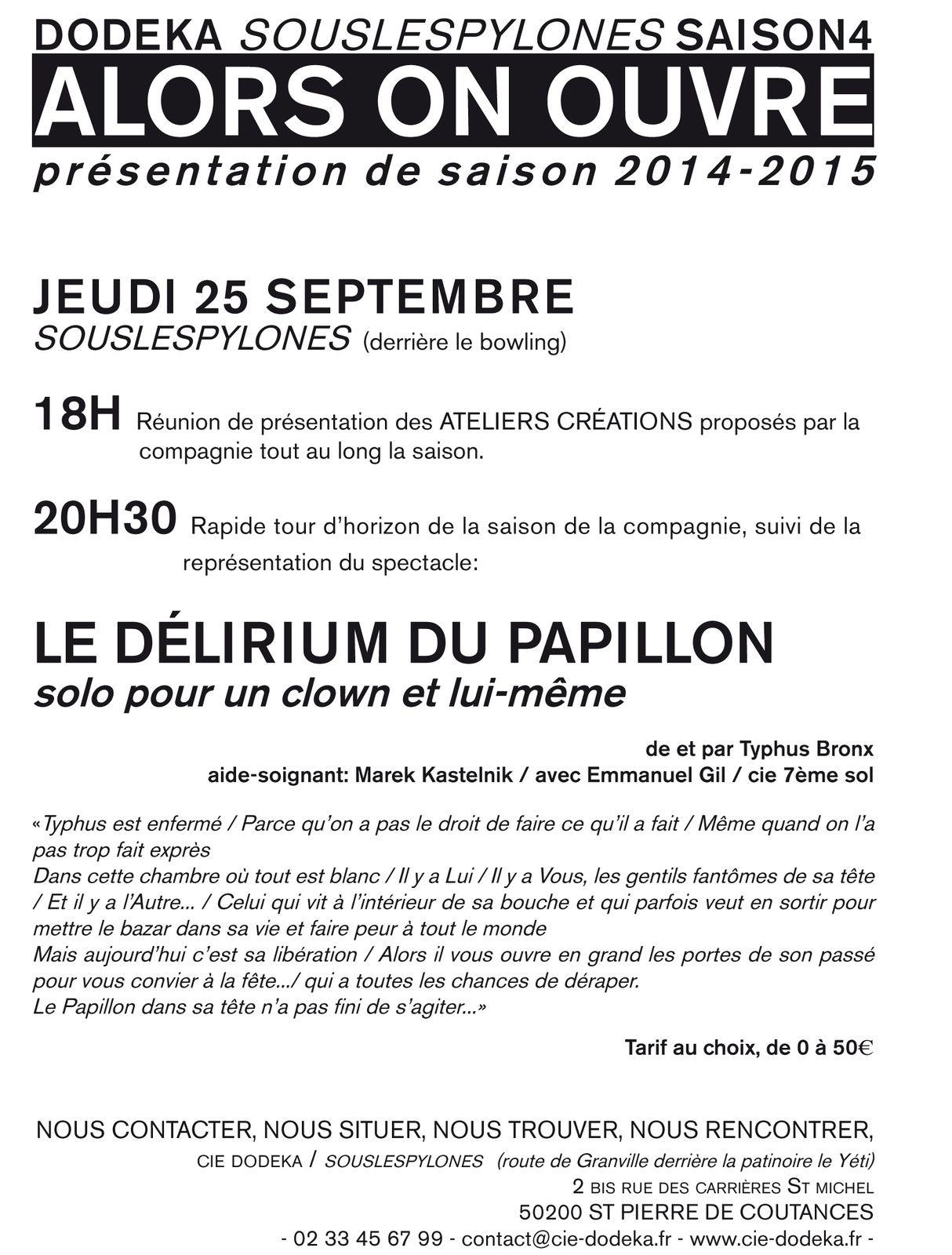 OUVERTURE DE LA SAISON #4 souslespylônes