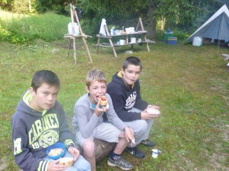 Retour sur le camping des grands