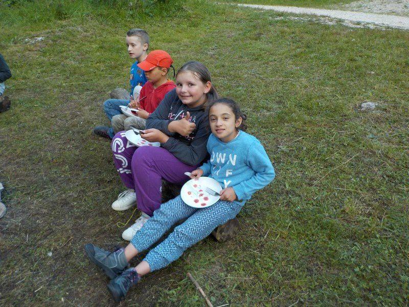 camping et activités à la colo
