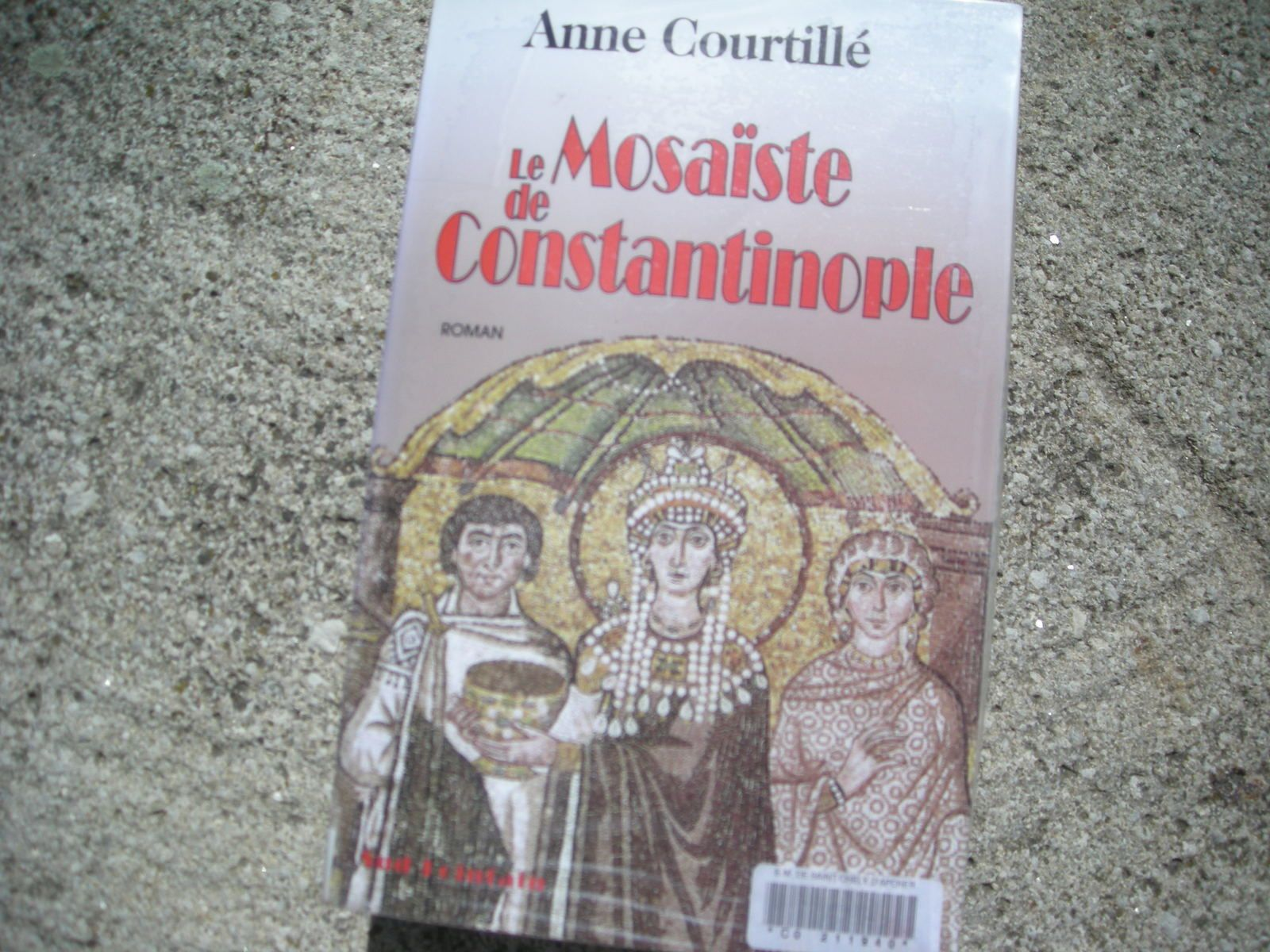 Le mosaïste de Constantinople d'Anne Courtillé