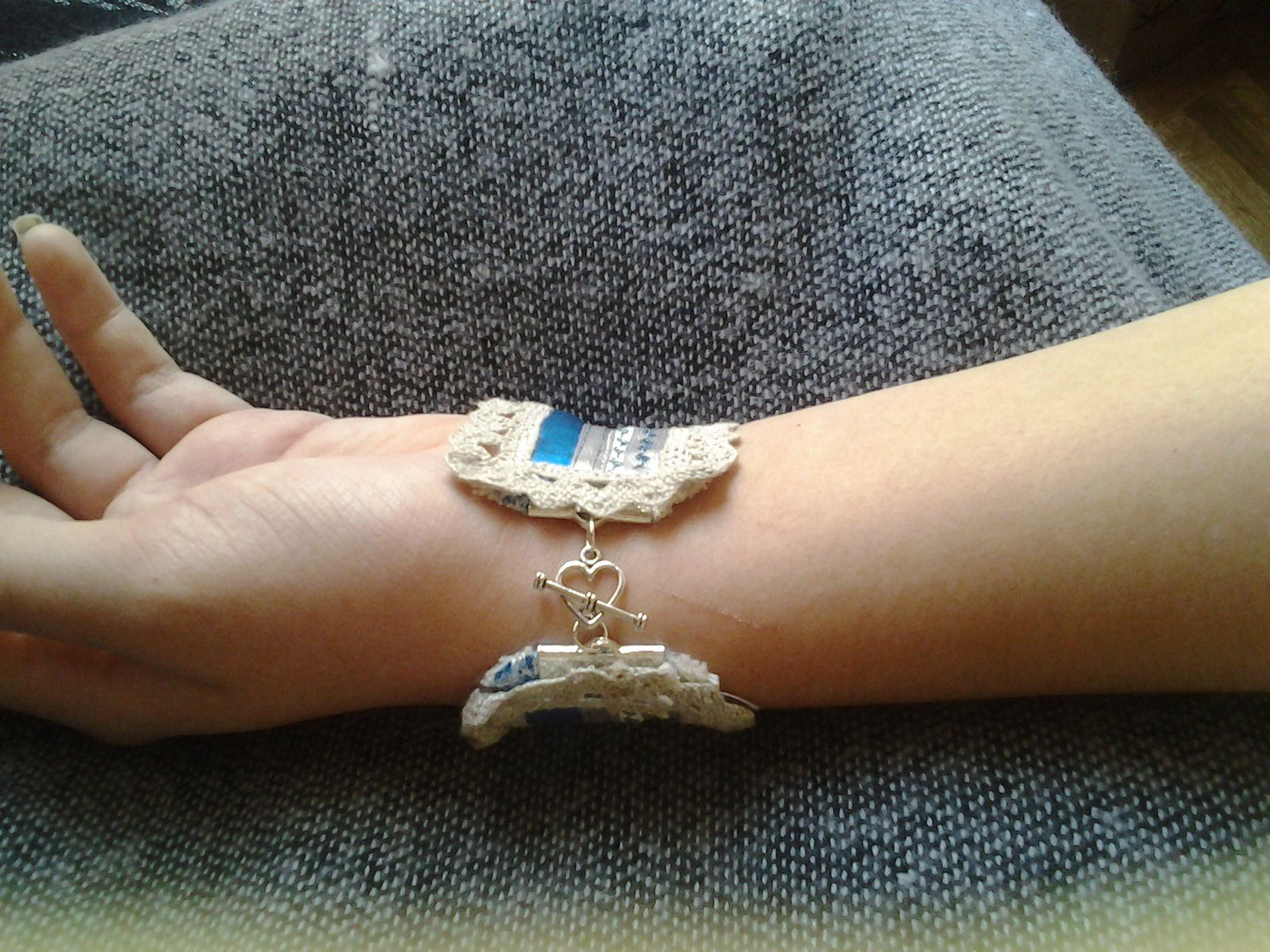 Mon bracelet manchette et petite pochette