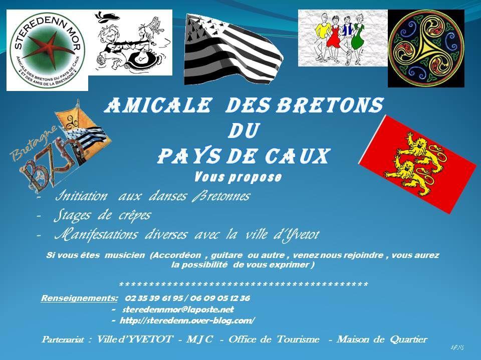 Bienvenue sur le site  des Bretons du Pays de Caux