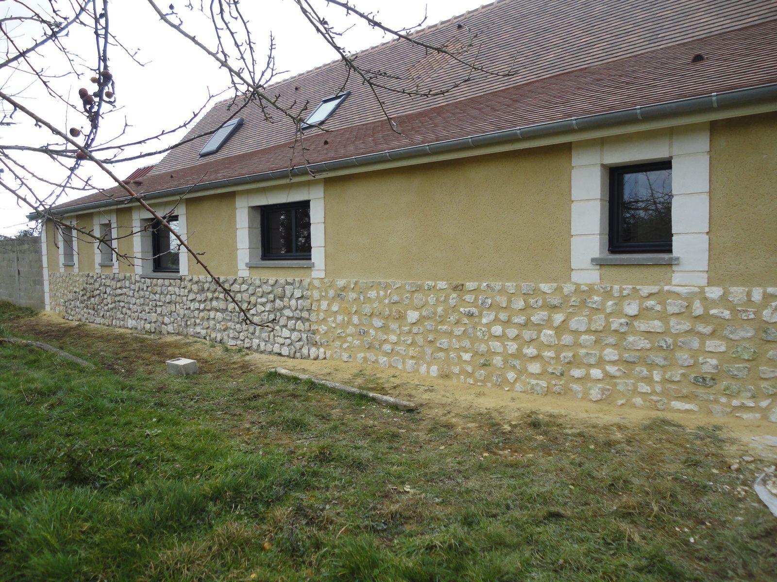 Ravalement de maison da silva renovation maison torchis - Pierre chaux et couleurs ...