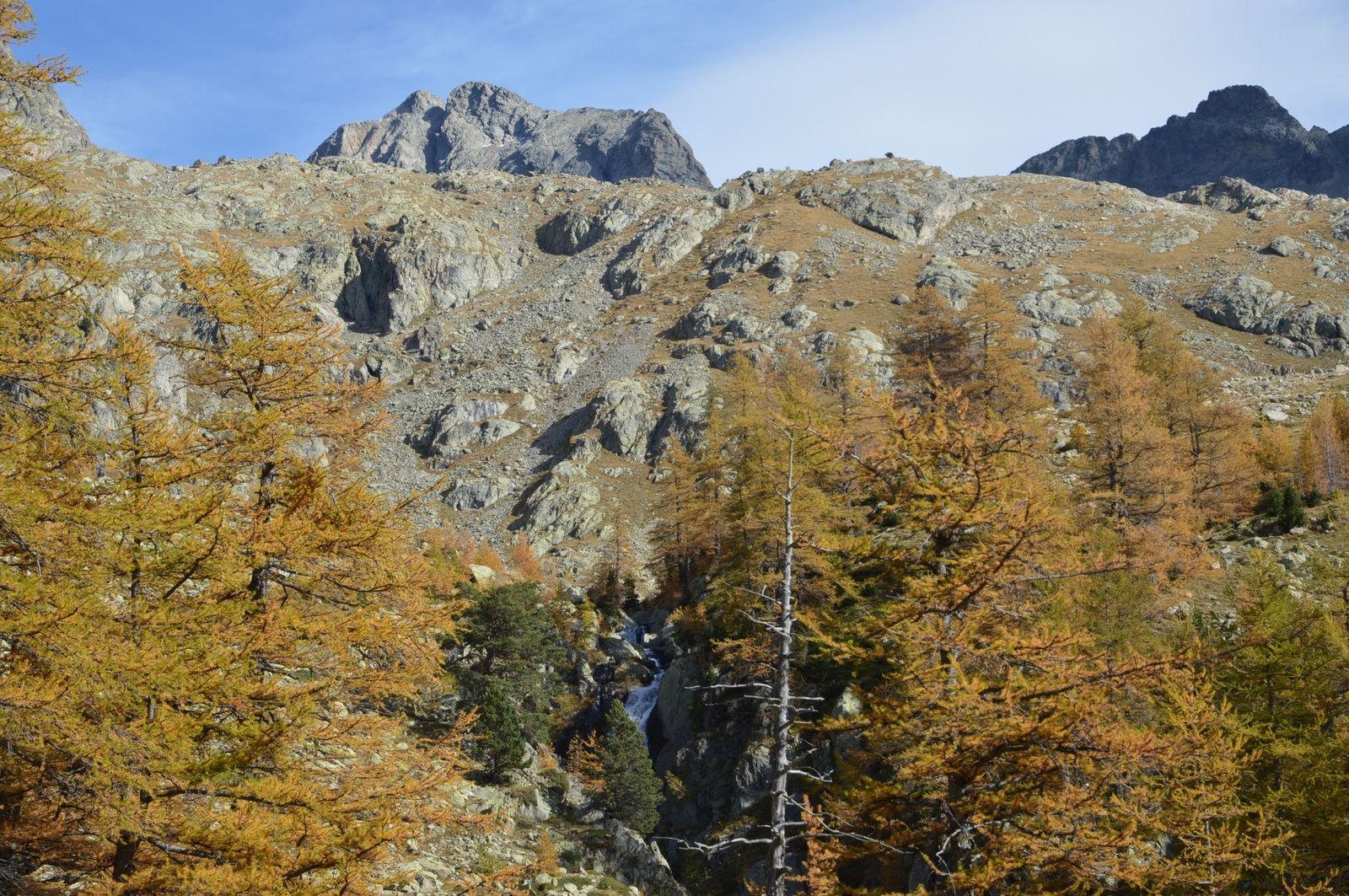 Le Gelas 3143m plus haut sommet des Alpes Maritimes