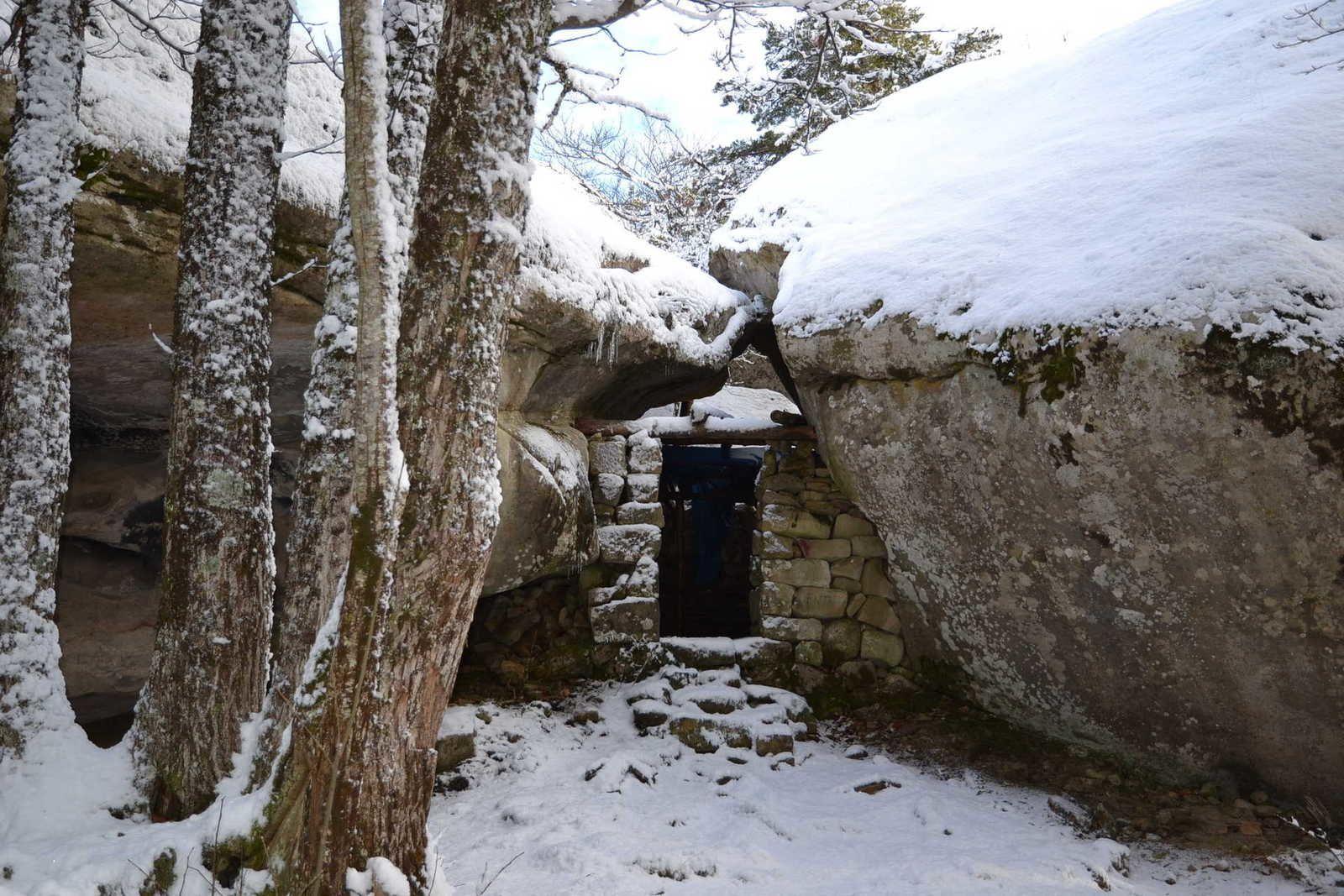 Le pays d'Annot et son circuit des Grès le15 janvier 2014