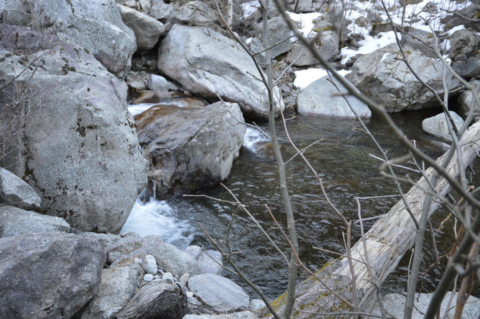 Peche de la truite sur un parcours costaud le 16 mars 2014