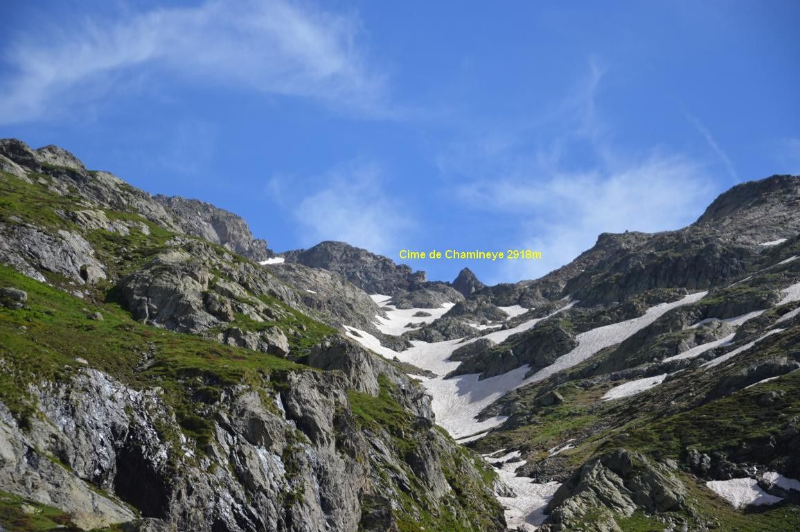 Magnifique randonnée dans le Mercantour le 10 juillet 2014
