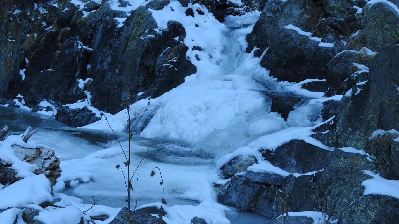 La féérie de l'eau et de la glace janvier 2016