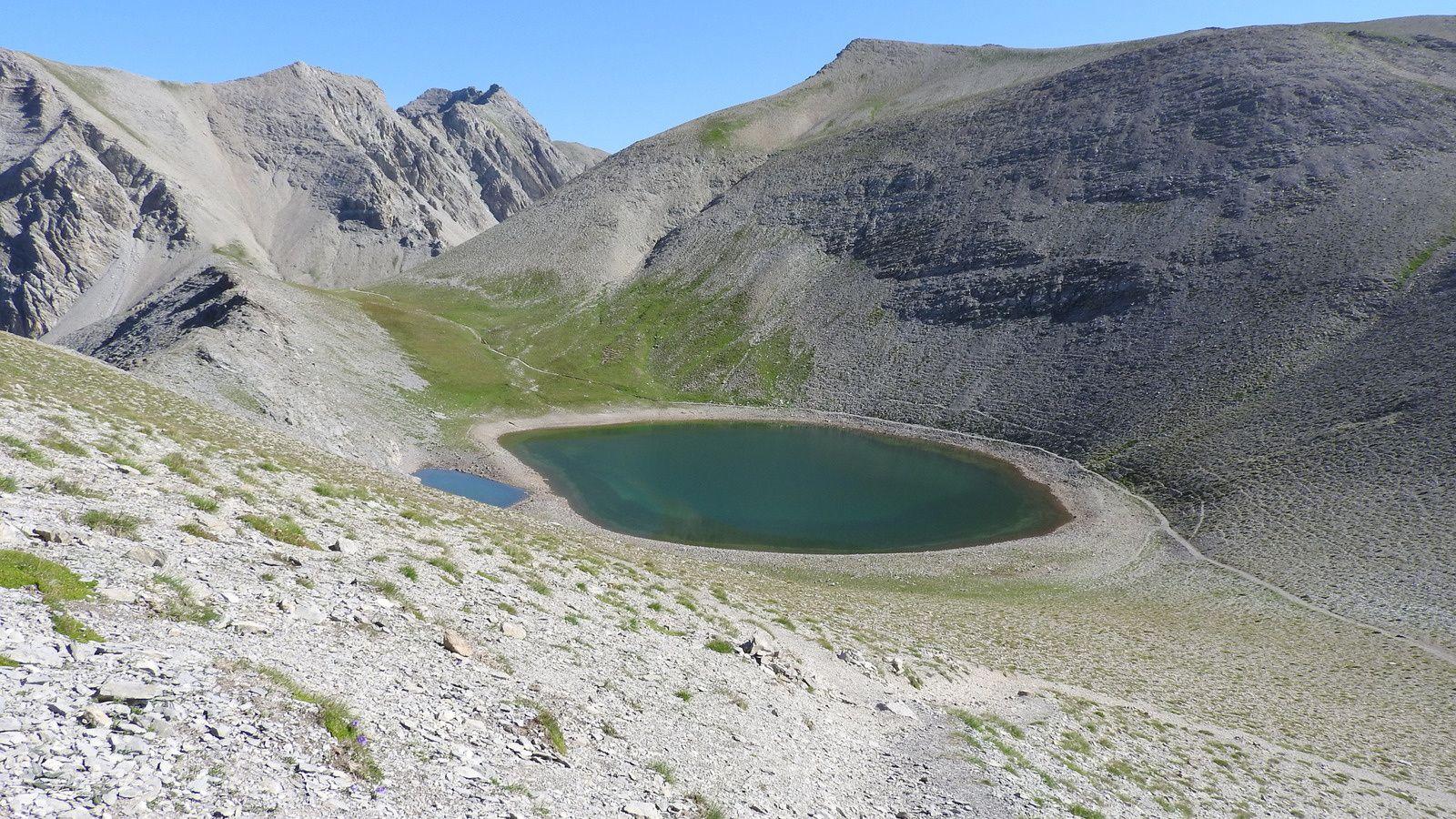 Randonner dans le massif de la Cayolle