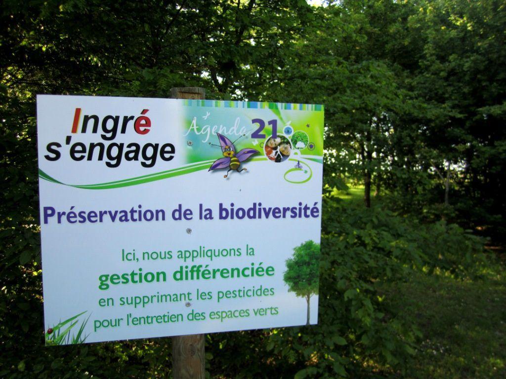 Ingré, une municipalité très engagée en matière d'écologie.