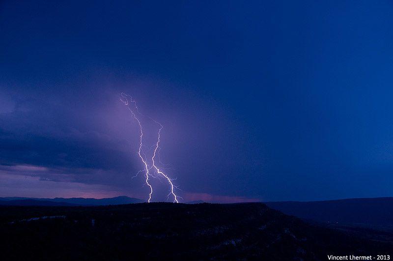 Orages du 7 juillet 2013 sur les Cévennes (Gard / Hérault)