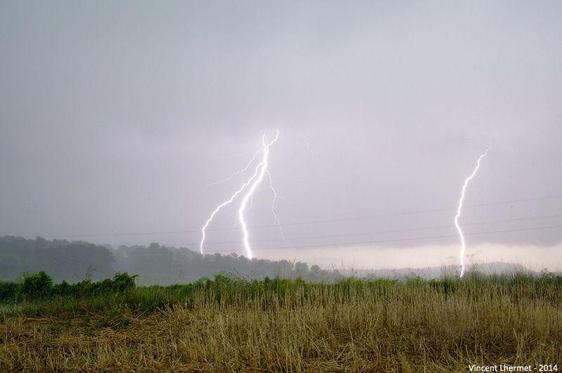Violent orage du 20 juillet 2014 dans le Gard