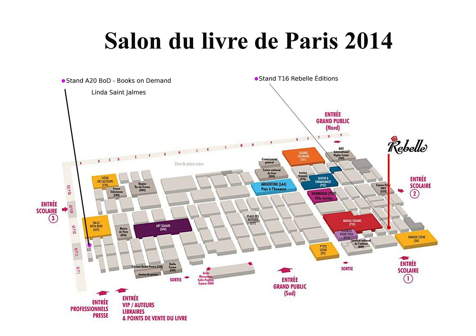 Salon du livre de paris 2014 linda saint jalmes - Salon du livre troyes ...