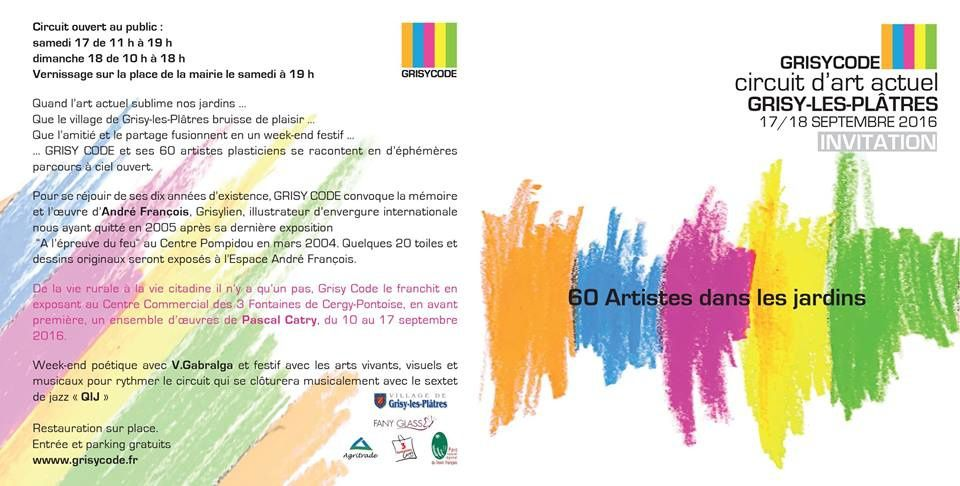 Invitation le 17-18 septembre