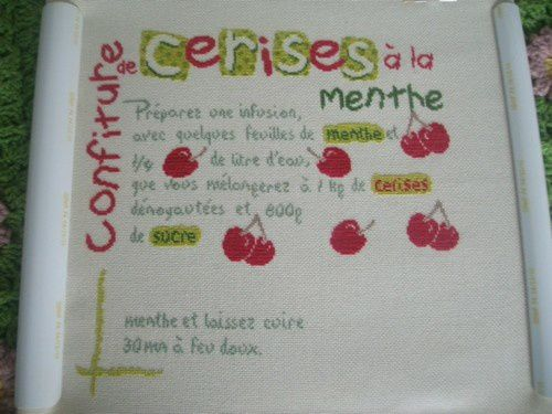 Etape 7 de confiture de cerises de lili point.