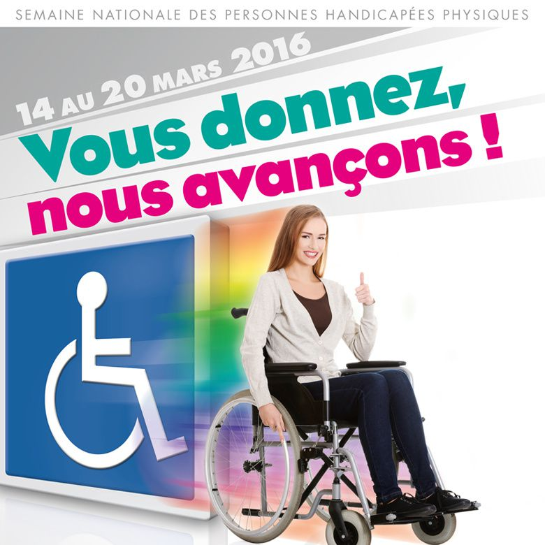 SEMAINE NATIONALE DU HANDICAP 2016