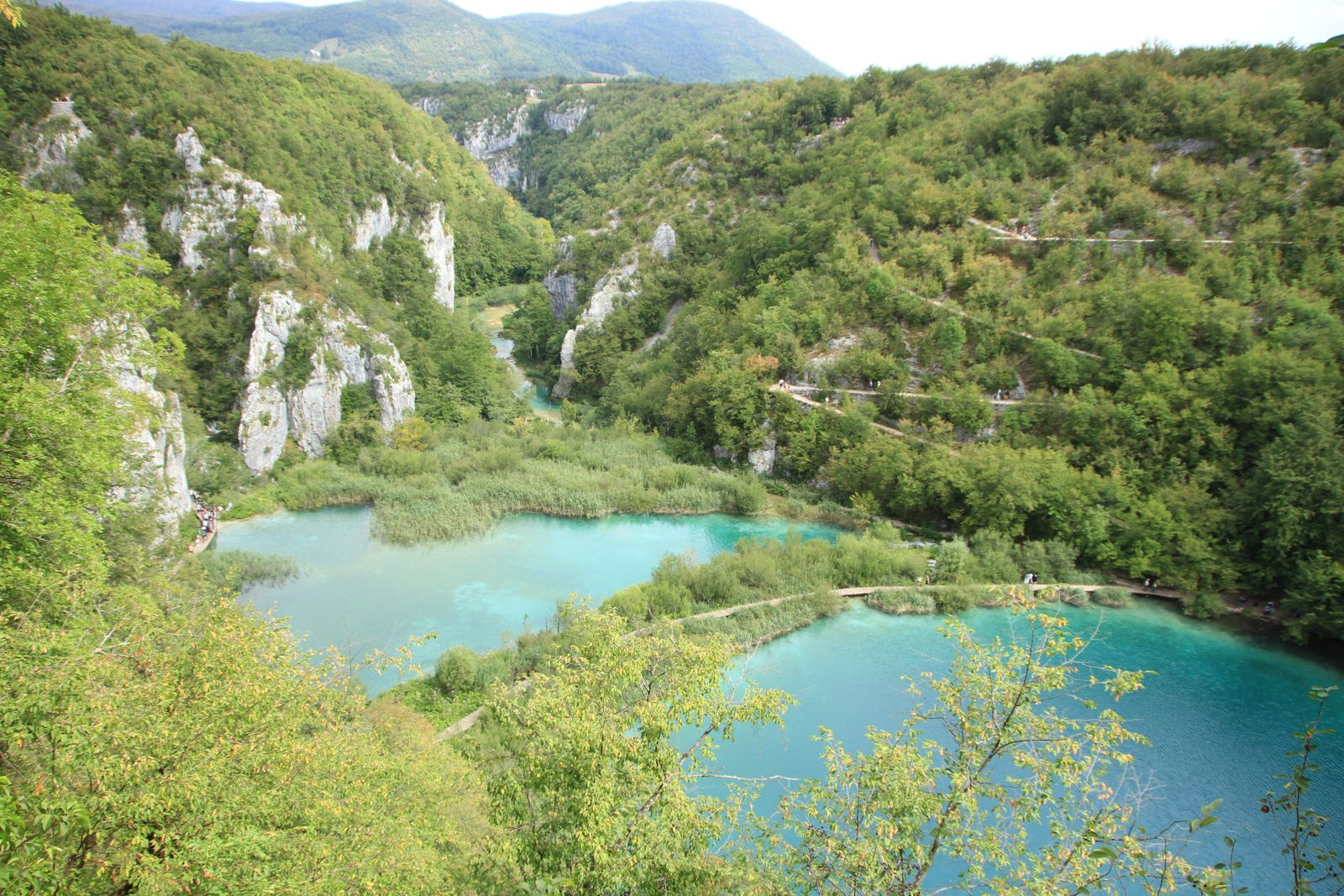 Parc National de Plivitce, lower lakes.