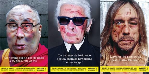 A great campaign for Amnesty International