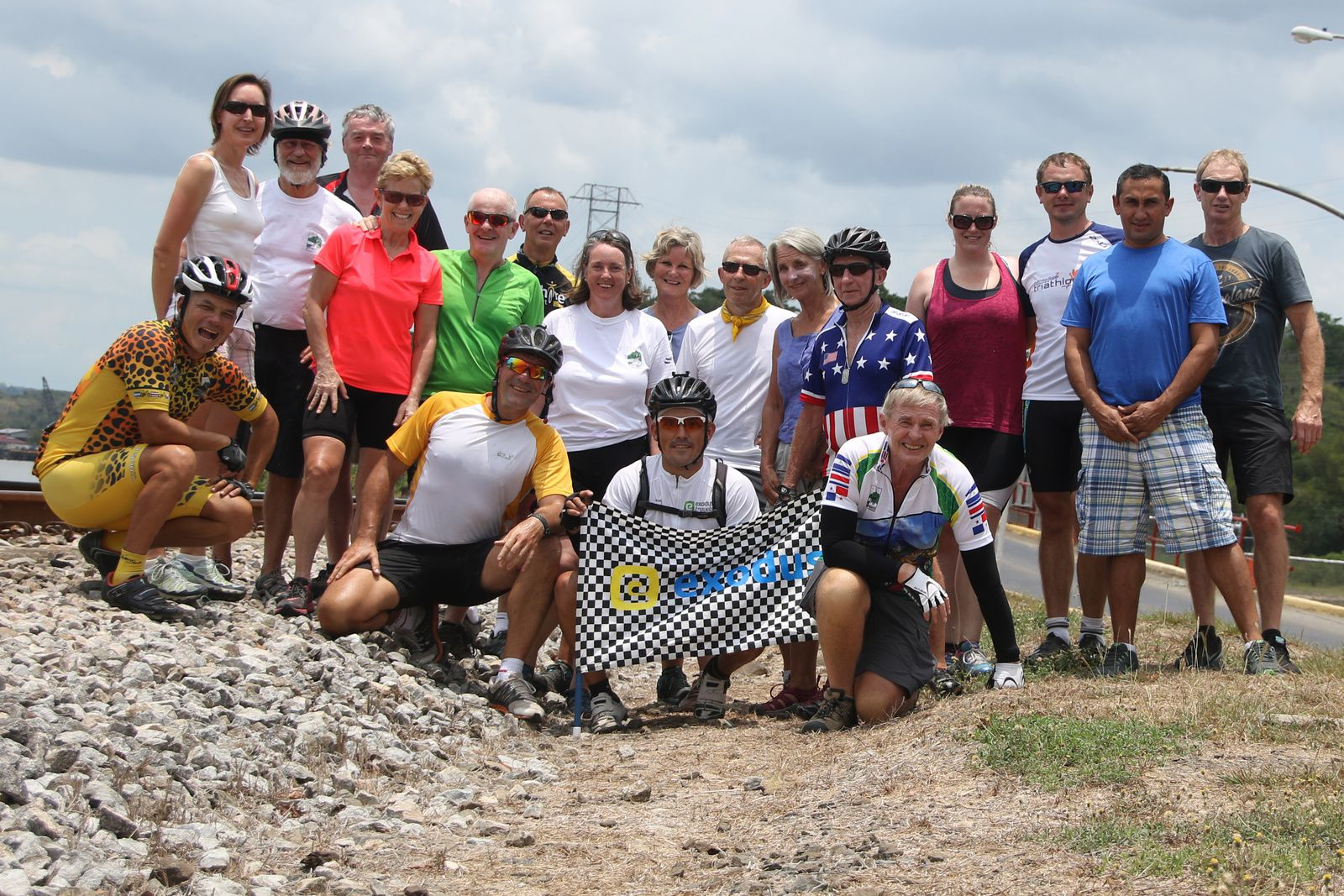 Central America cycling trip