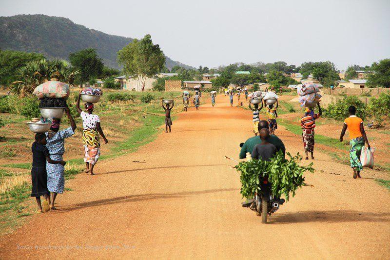 Voyage paramoteur au Bénin. Du sud au nord, de Cotonou à la Penjari