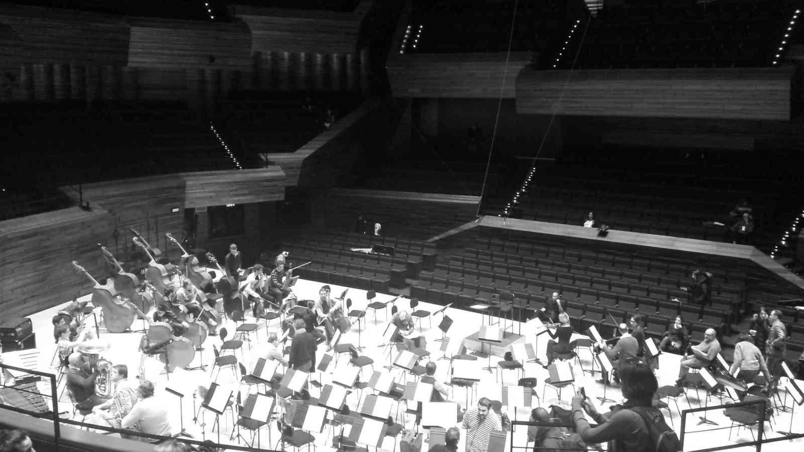 J-3 : En répétition avec Adrien Perruchon et le Philharmonique de Radio-France Acte 1