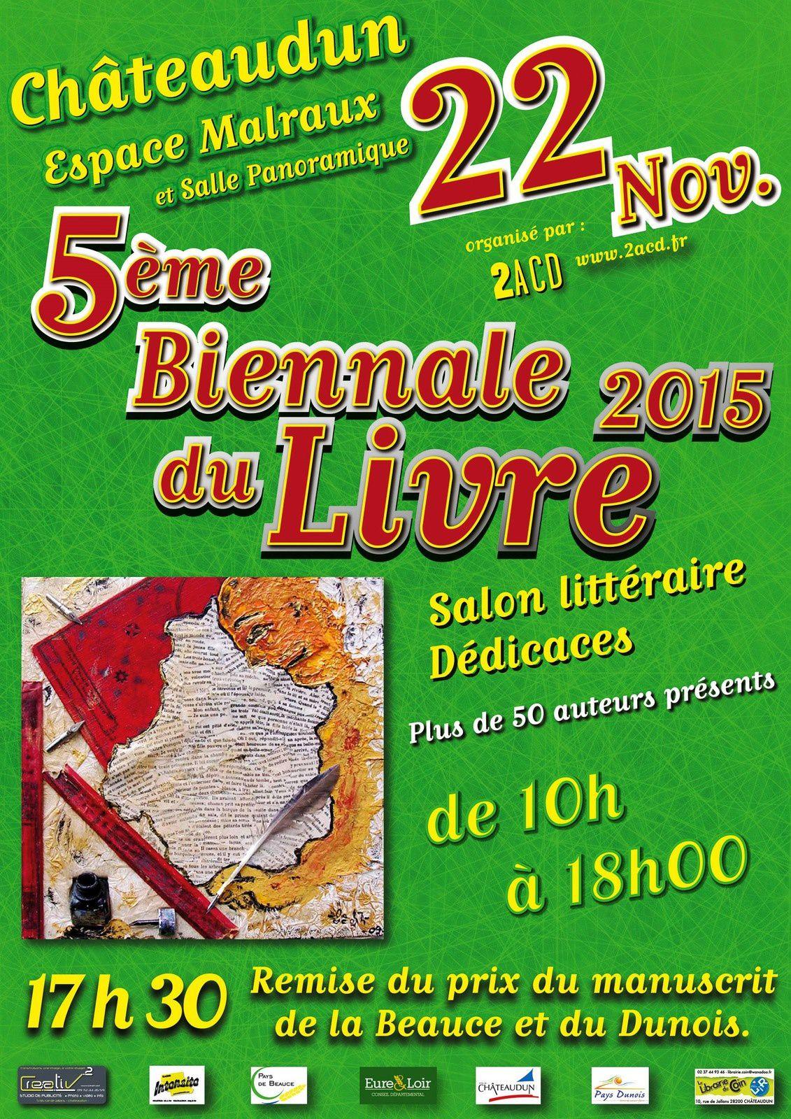 La Société Dunoise, présente à la Biennale du livre, Espace Malraux à Châteaudun