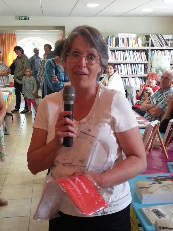 Martine Michaud-Fievet, lauréate du prix jeunesse