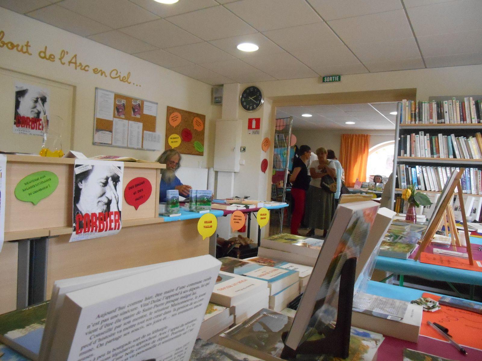 Dédicace &quot&#x3B;Ballade Littéraire 2014&quot&#x3B; à Chamboeuf 42330
