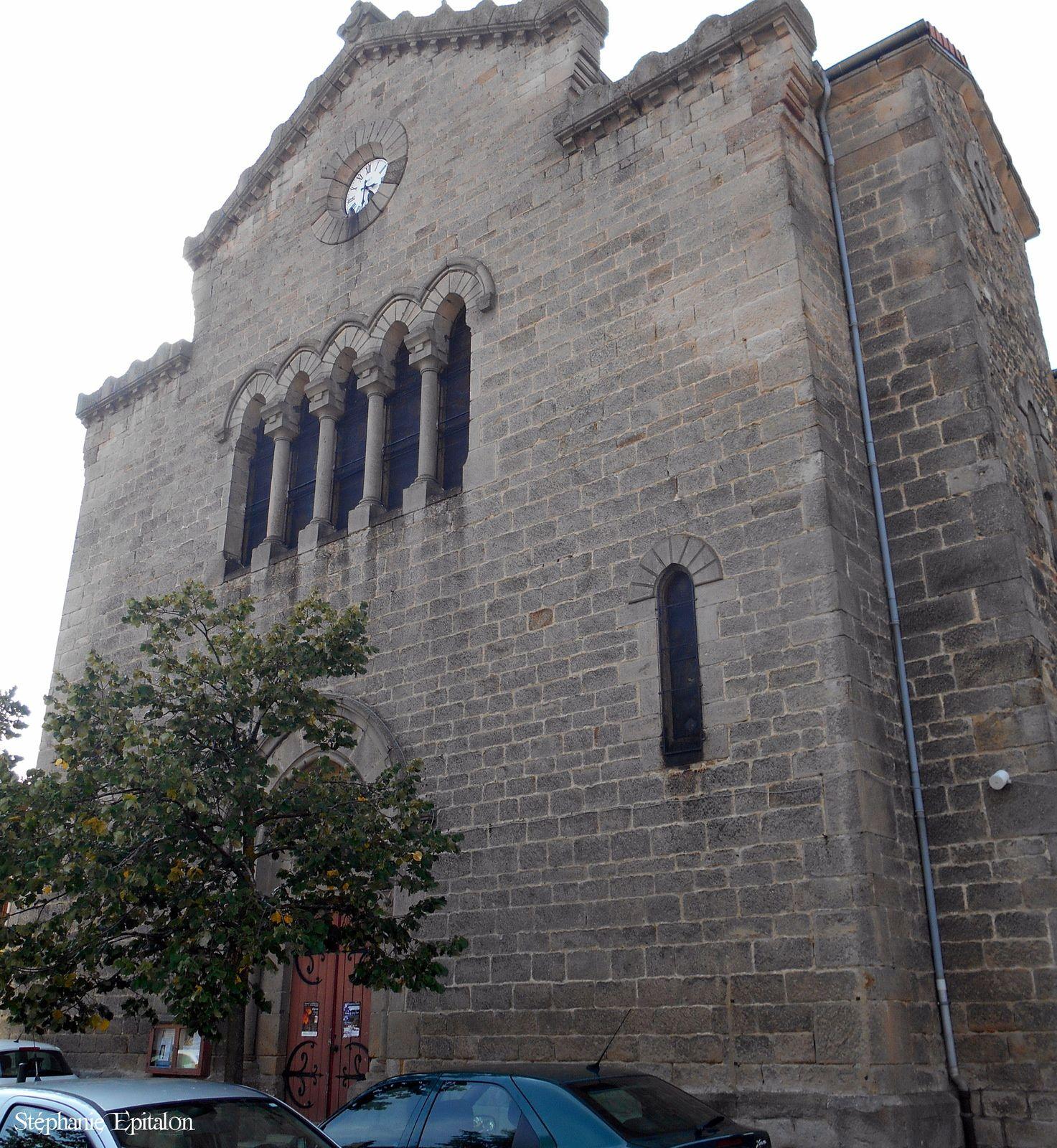 Eglise St-Ferréol d'Auroure (43330 Haute-Loire)