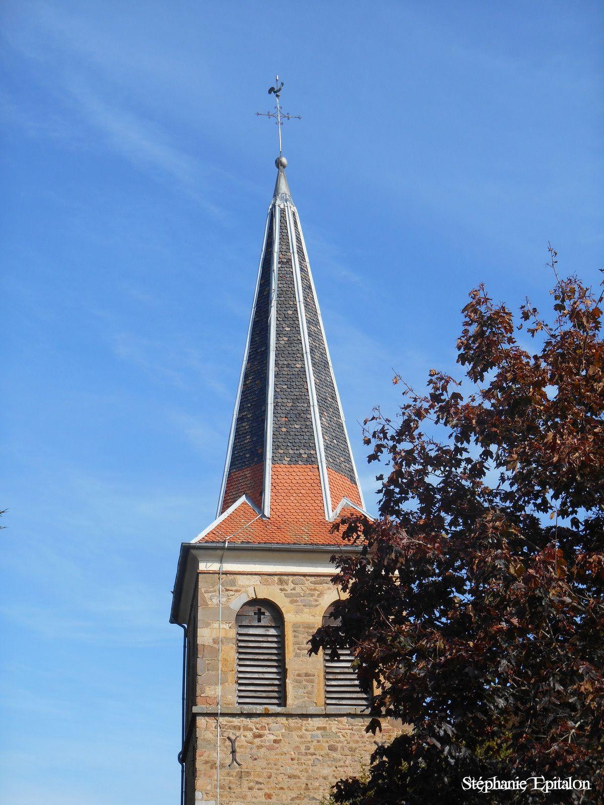 L'église de St-Marcel de Félines (42122, Loire, France)