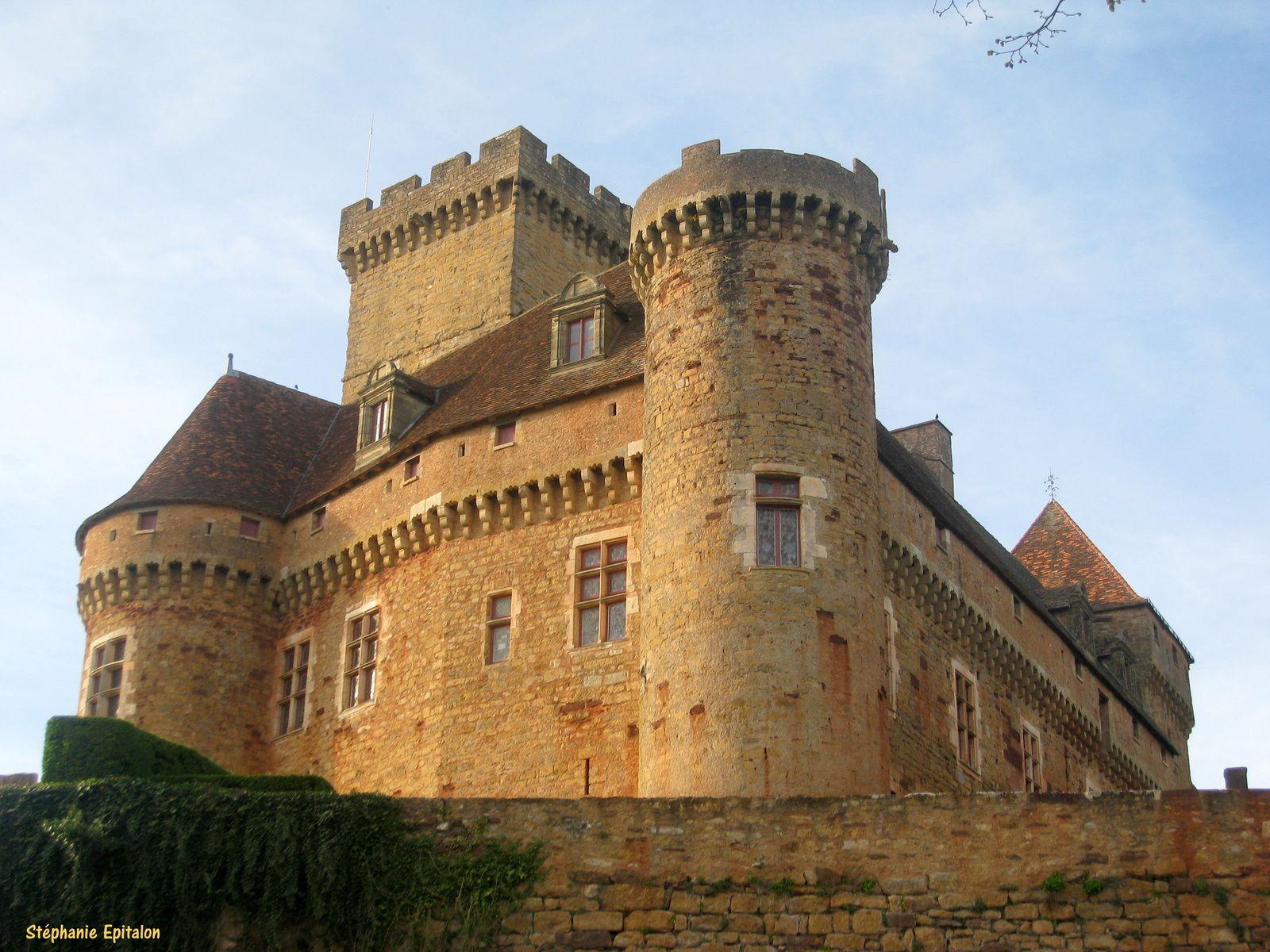 Château de Castelnau-Bretenoux Périgord vacances avril 2010