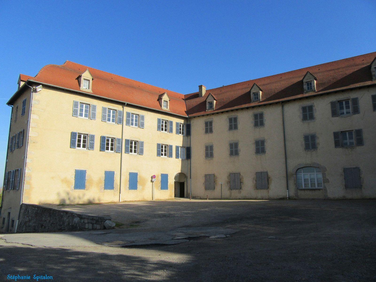 vue sur l'ancien couvent des visitendines