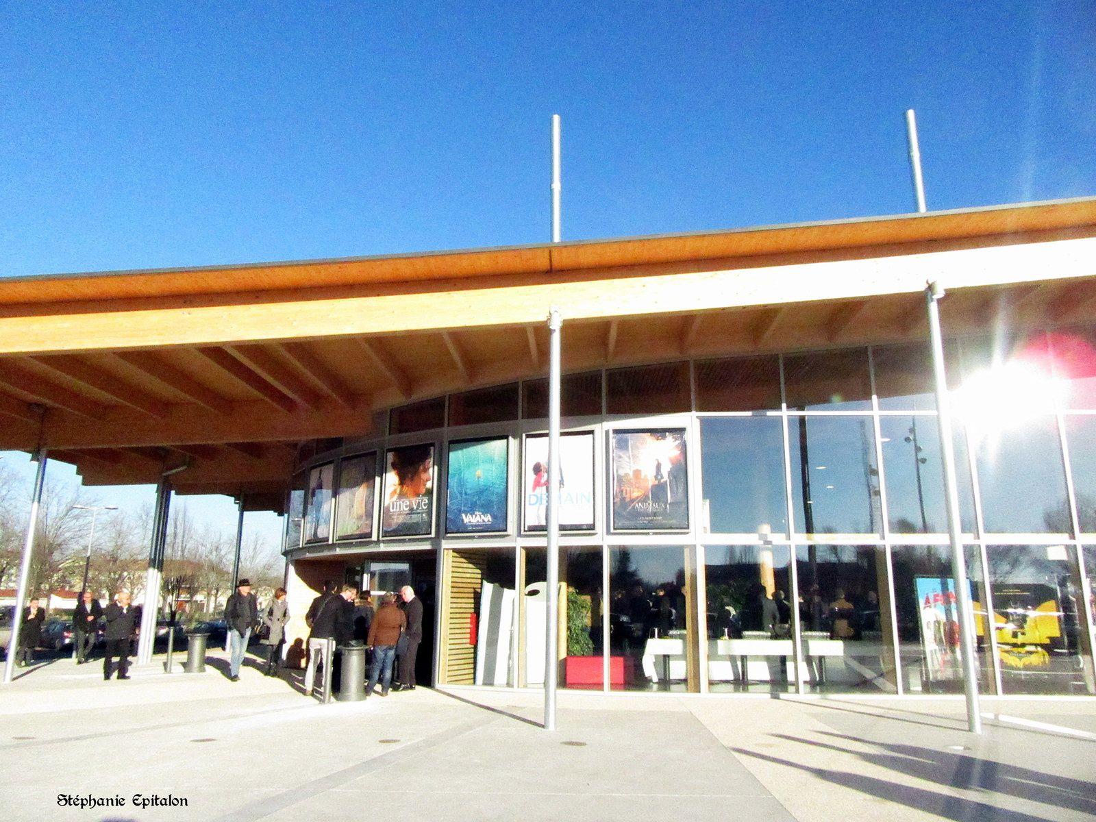 Inauguration nouveau cinéma Rex de Montbrison (42600, loire)