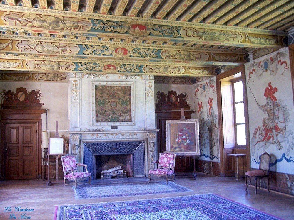 Château de Vaugirard (42600 Champdieu)