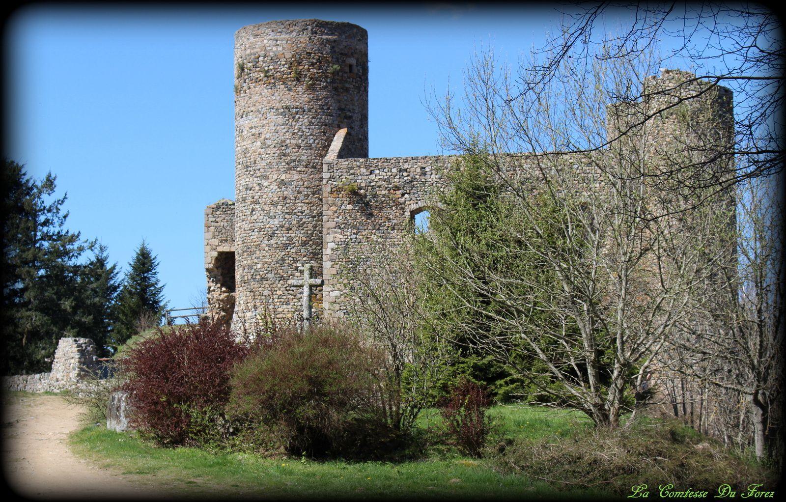Château des Cornes d'Urfé (42430 Champoly)