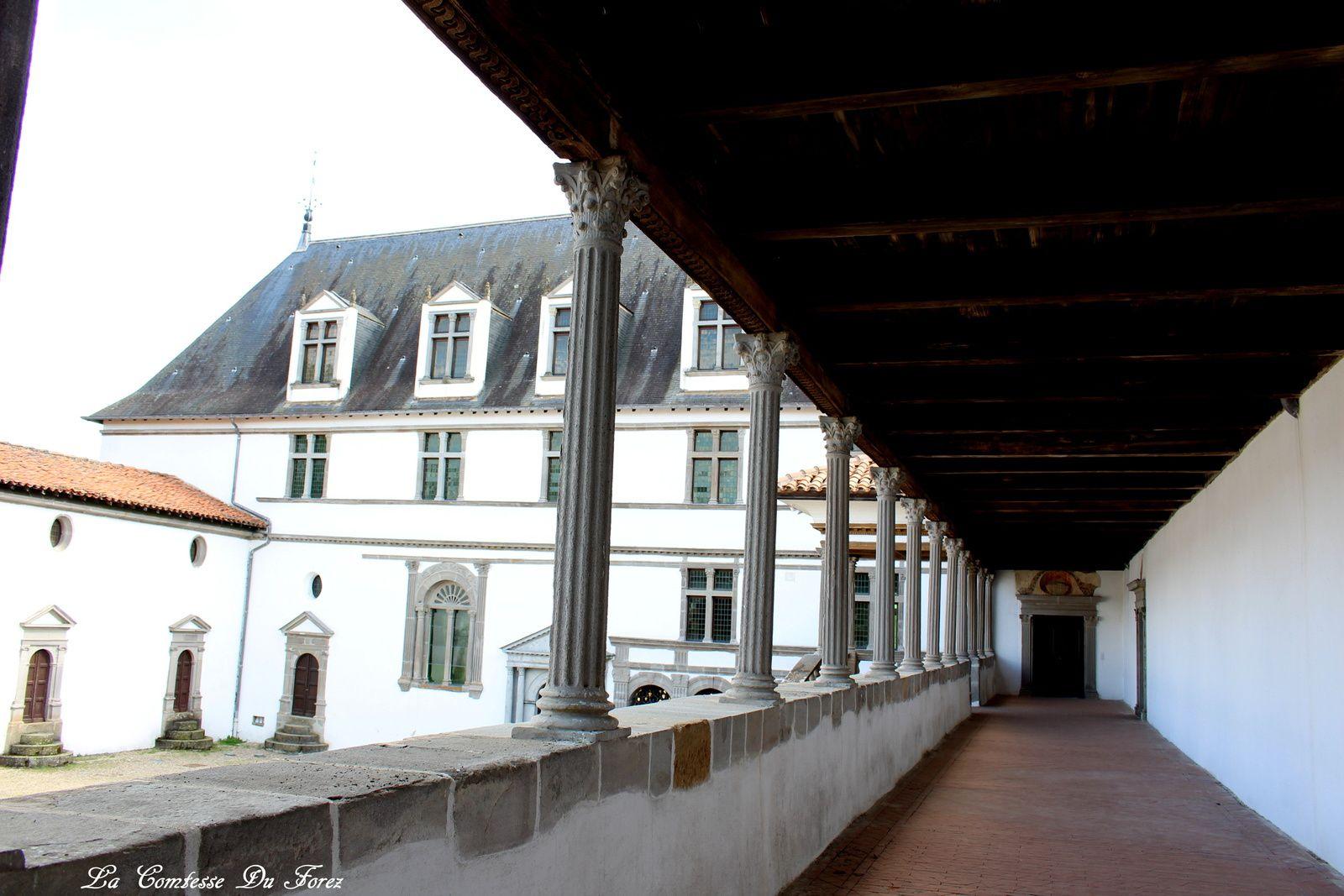 Château de la Bâtie d'Urfé (Saint-Etienne le Molard 42130) Partie 3 : la cour