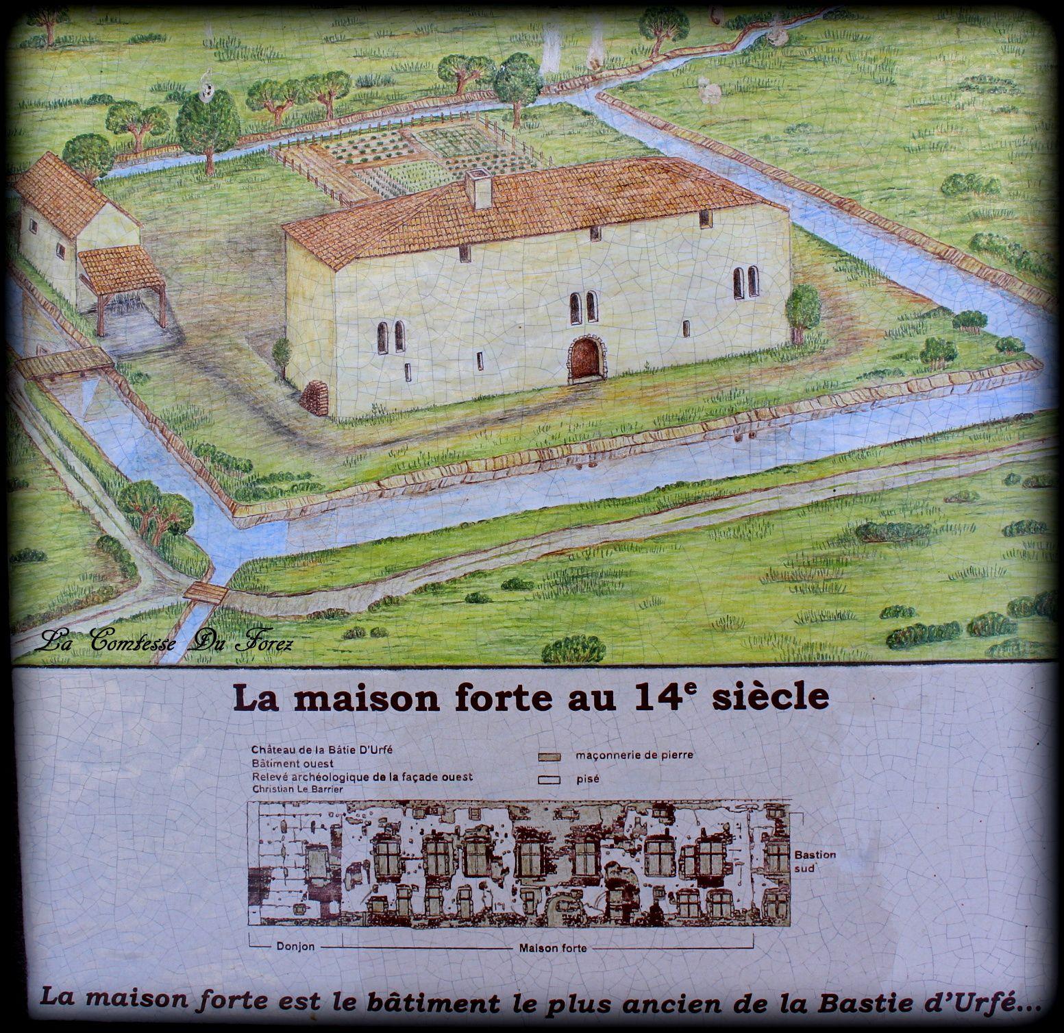 Château de la Bâtie d'Urfé (Saint-Etienne le Molard 42130) Partie 1 : les appartements