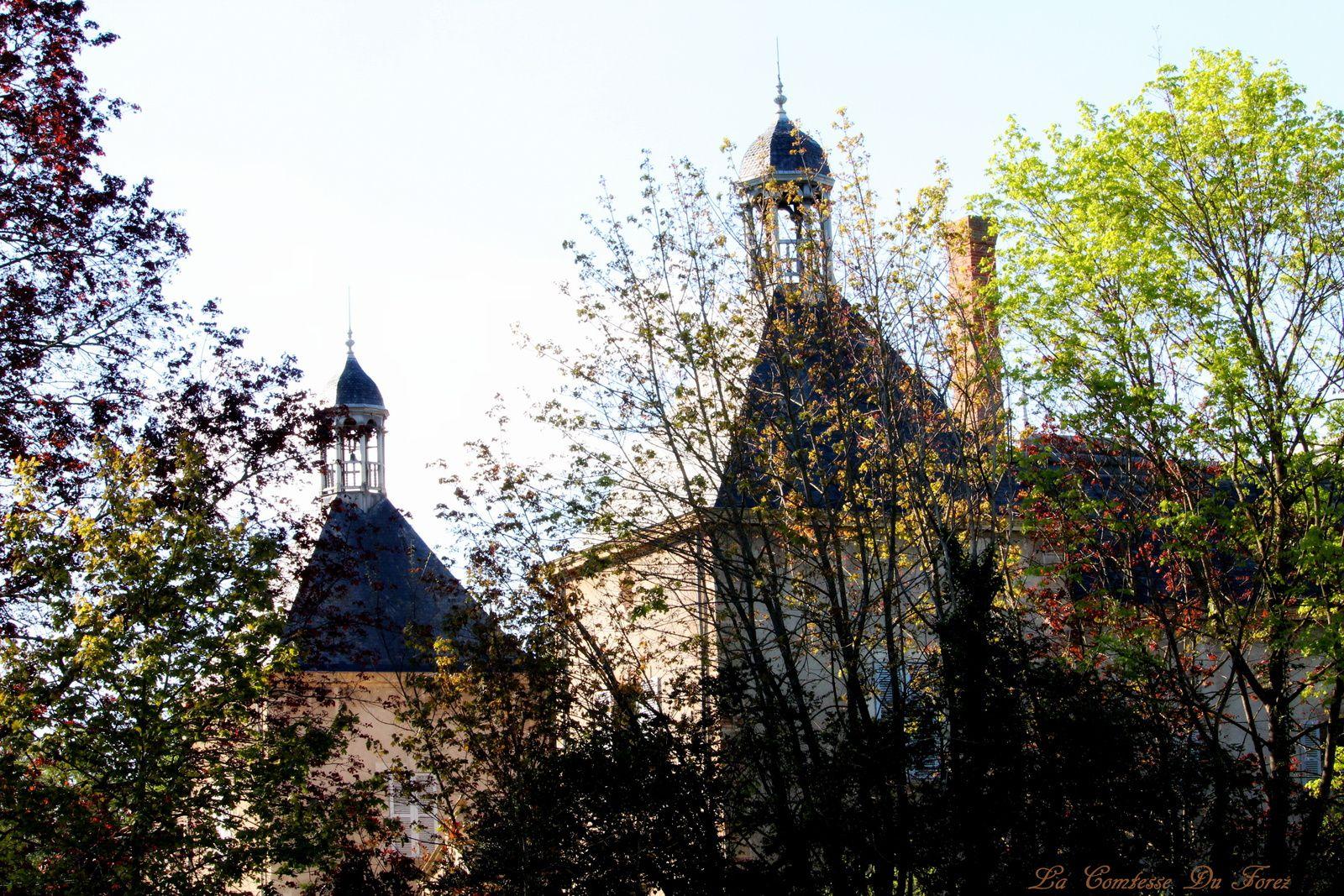Château de Vaugirard (42600 Champdieu, Loire)