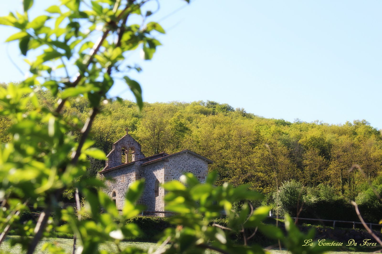 Eglise de Saint-Paul d'Uzore (42600, Loire)
