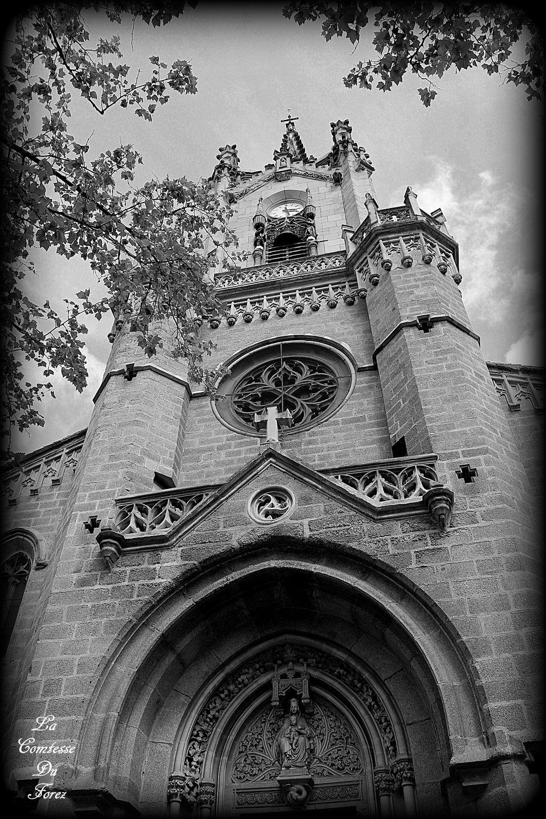 Eglise paroissiale Notre-Dame de Feurs (Loire, 42110)