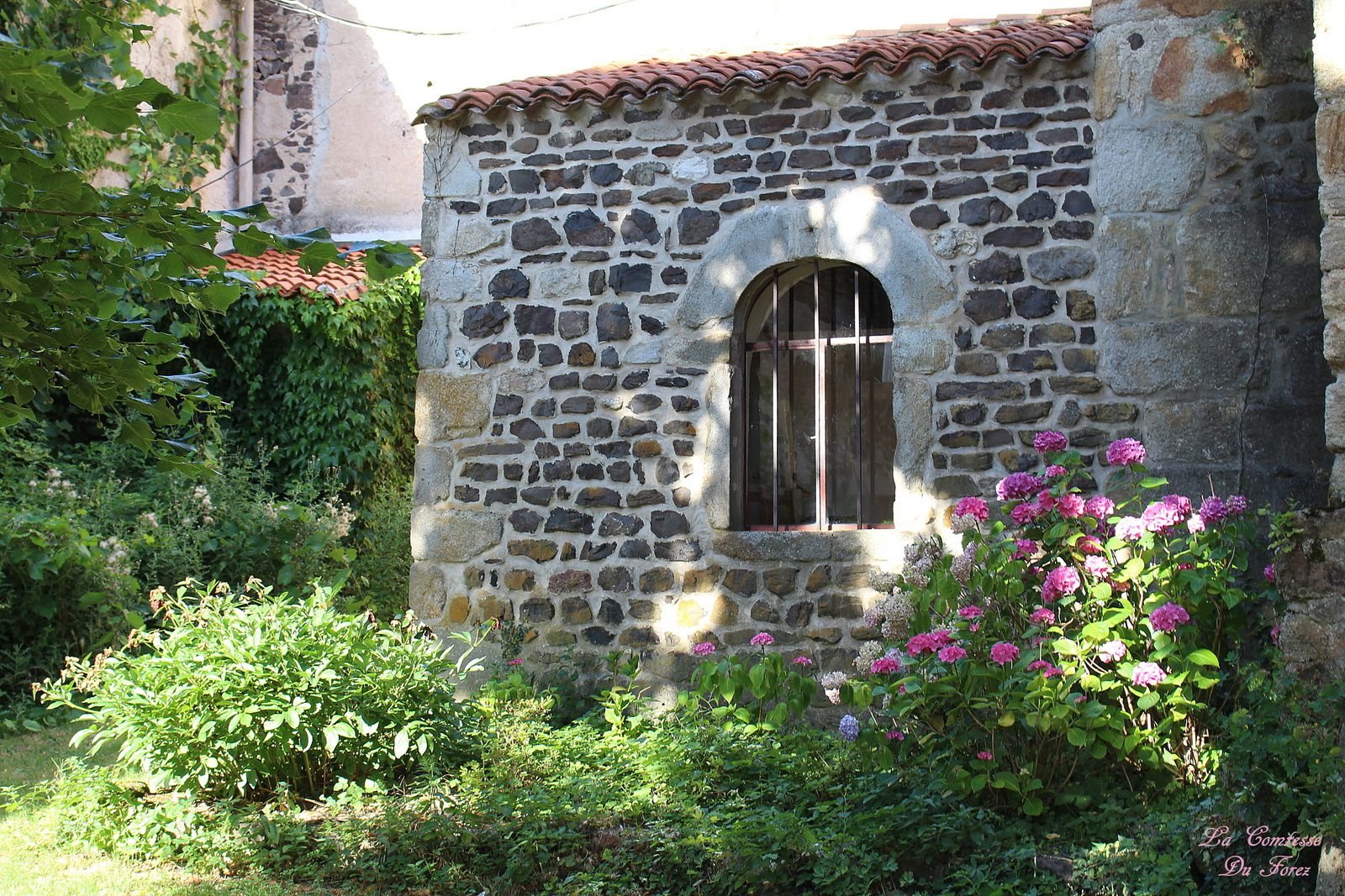L'Eglise Saint-Didier 42600 Chalain-d'Uzore, Loire