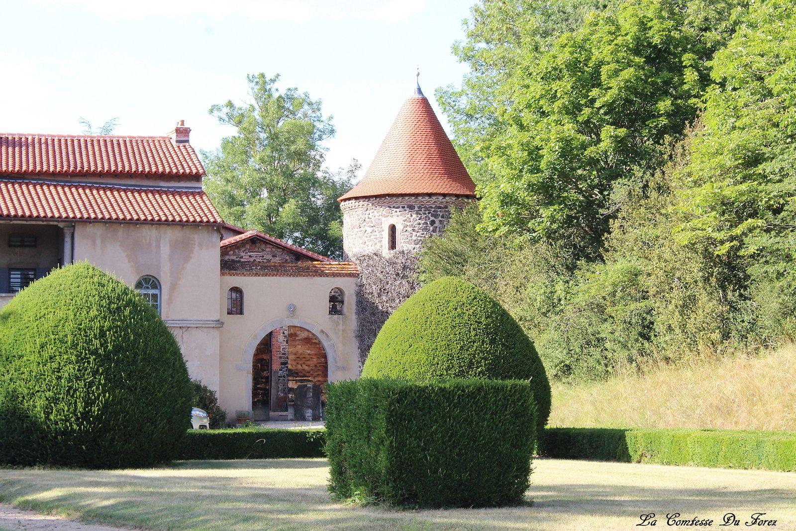 la façade côté jardin